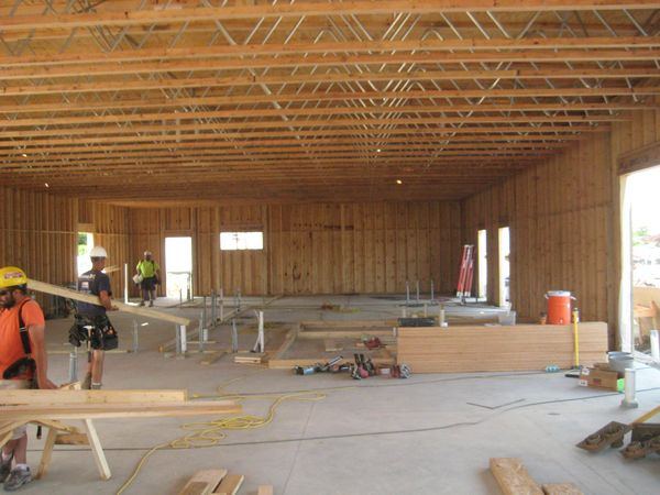 Wood Framing Independence Commercial Construction Inc