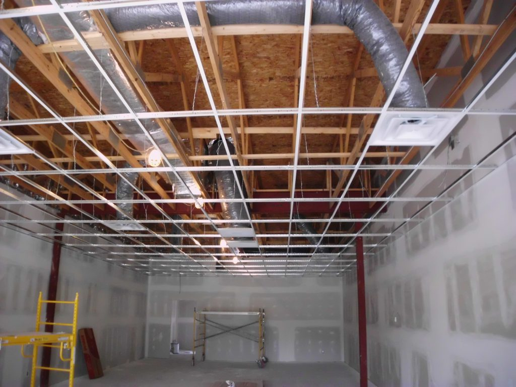 Acoustical Ceilings | Independence Commercial Construction, Inc.